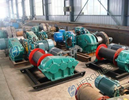 Electric Winches for Piling Machine Single-Drum Winches pictures & photos