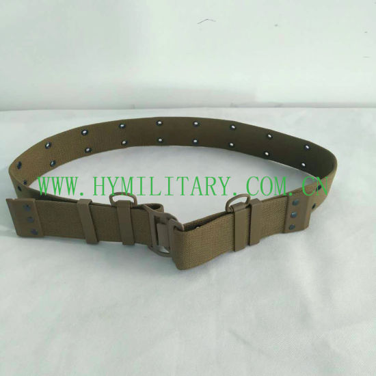 100% Cotton Classical Assault Belt Adjustable Webbing Belt
