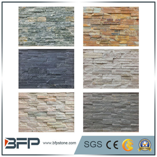 Natural Quartize Sandstone Marble Slate Ledgestone Veneer Tiles pictures & photos