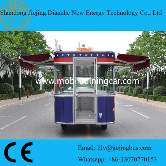 Mobile Kitchen Car with Ce/Food Truck Trailer/Snack Mobile Food Trailer pictures & photos