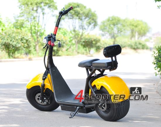 2016 Popular Harley Scrooser Style Electric Scooter with Big Wheels, Fashion City Scooter pictures & photos