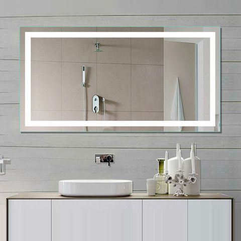 China 5mm Ce Approved Wall Mounted Hotel Led Lighted Bathroom Mirror