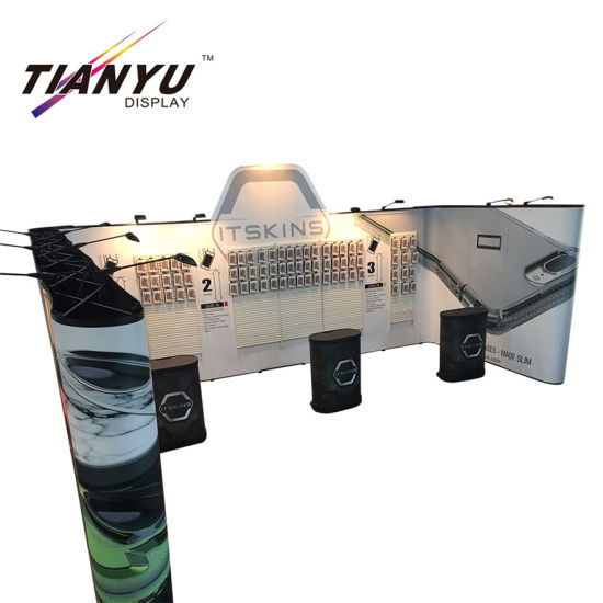 Tianyu Easy Assemble PVC Pop up Stand Promotion Booth