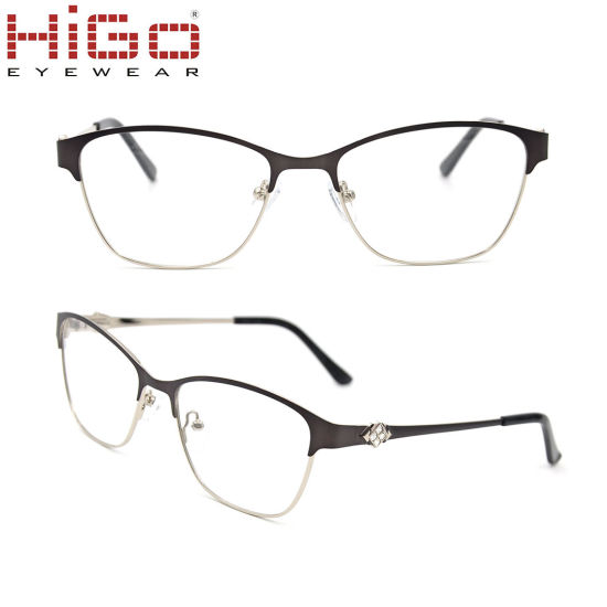 China Stainless Spectacles Wholesaler Metal Optical Frames with ...