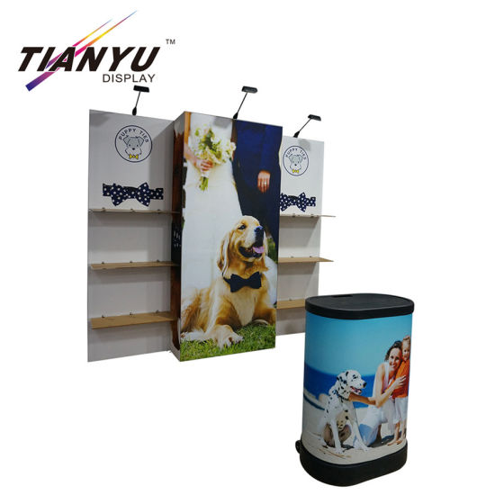 Frameless Trade Show Display Booth Stand From Tianyu