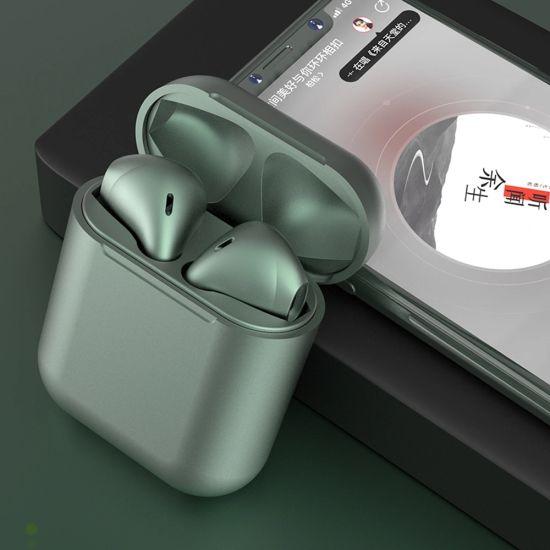 2020 Bluetooth Macaron Inpods 12 Touch Control 5.0 Mini True Wireless Earphone I12 I 12 Tws Wireless Headphone