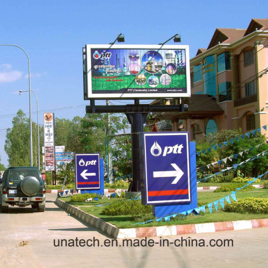 Outdoor Unipole Double Side Prisma Vinyl Triple Tri-Vision Ads Media Billboard pictures & photos