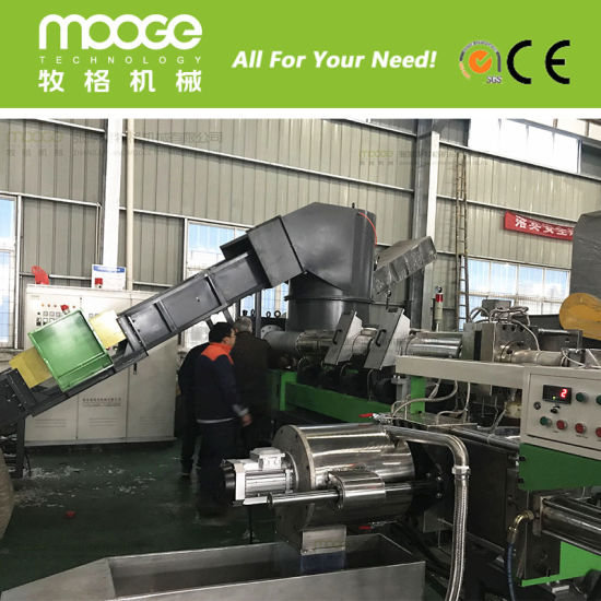 Waste Recycle Plastic Granule Making Machine pictures & photos