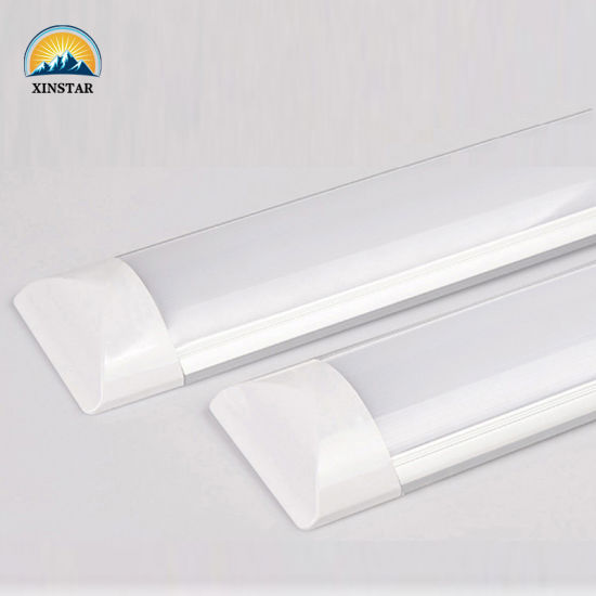 China 2FT 4FT 5FT Wide Flat Tube Fitting Vapor Tight Tri-Proof