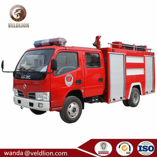China Manufacturers 4X2 Dongfeng New 120HP 1000 Gallons Fire Fighting Truck Fire Truck pictures & photos