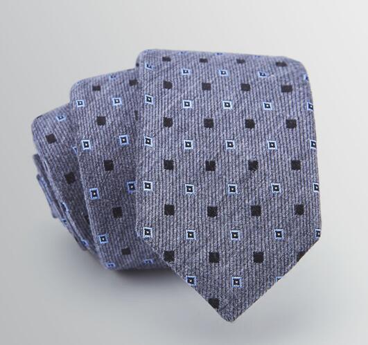 Custom Made Woven Jacquard Silk Tie