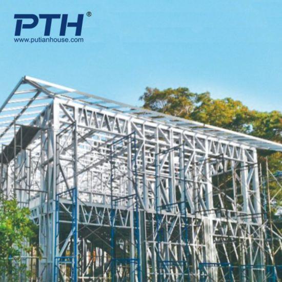 Construction Design Light Steel Structure as Prefab Hotel