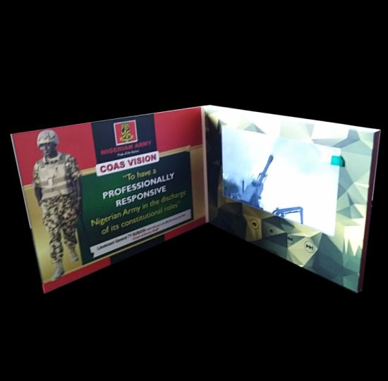 custom lcd screen video business cards - Video Business Cards