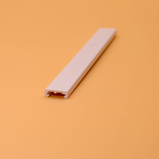 Extrusion PVC U Profile for Display and LED Cover