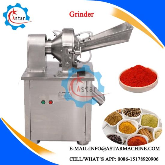 High Quality Stainless Steel Ginger Grinding Machine pictures & photos