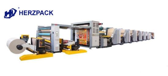 High Quality Flexo Printing Machine, Unit Type
