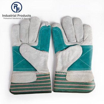 RF OEM Style Confortable MIG Welding Labor Protection Gloves