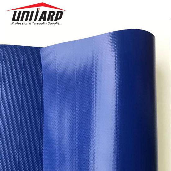 1000d Ripstop PVC Tarpaulin Blue Plastic Vinyl Sheet for Building