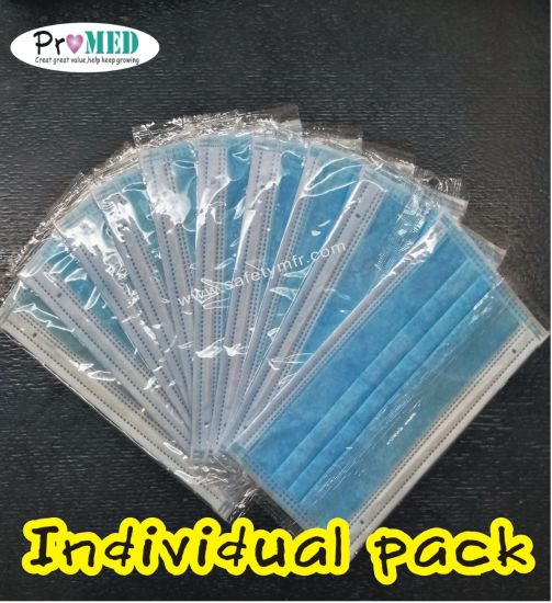 individual packed surgical mask