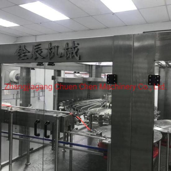 Efficient Automatic Spiral 0.2L-2L 5000bph-24000bph Mineral Water Juice Beverage Filling Bottling Capping Sealing Package Line
