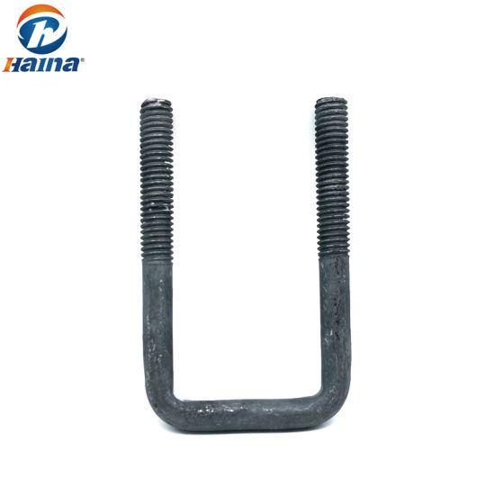 Wholesale Custom Carbon Steel HDG U Type Bolts Fortower Fasteners Tower Fittings of U-Bolts