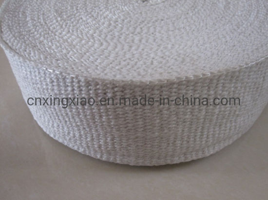 China Factory 1260 Centigrade Ceramic Fiber Tape 1.5-5mm Thick Heat Insulation