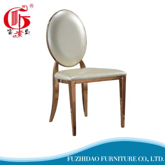 Modern Hotel Home Furniture Stainless Steel Banquet Wedding Event Chair
