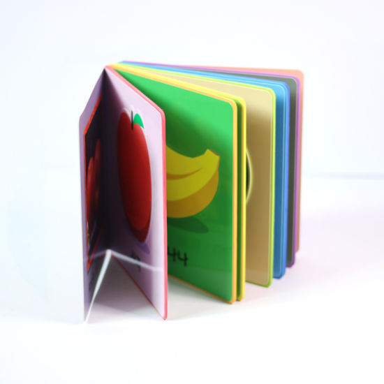 Custom Child Book Educational Punch Board Book Hardcover Books for Kids Printing pictures & photos