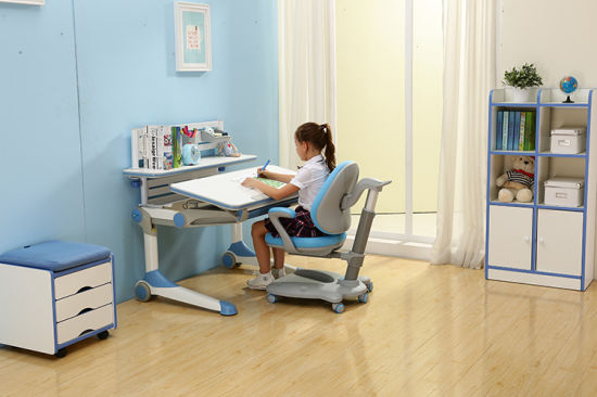 China Kid Study Table and Chair with Ergonomic Design