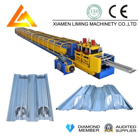 Xiamen Liming Yx60-300-600 Roll Forming Machine for Decking Floor