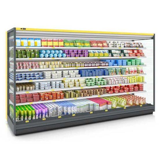 Commercial Fresh Vegetable Fruit and Vegetable Display Freezer