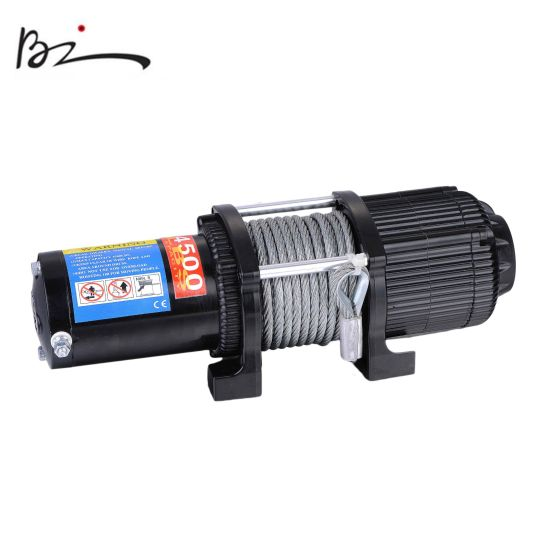 12V 4500lb Electric ATV Winch with Steel Rope