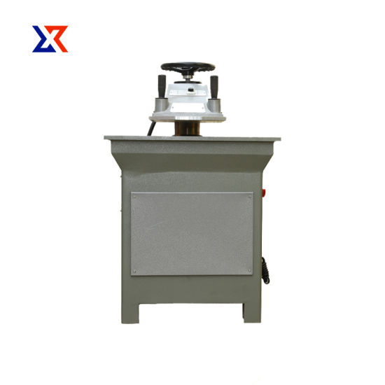 Swing Arm Clicker Press Cutting Machine for Shoe Material Leather Insole Board