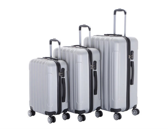 ABS Hard Travel Trolley Case Suitcase Bag Wheeled Luggages (XHA011)