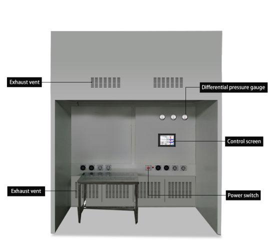 Zjsj-1600 Negative Pressure Weighing Room Dispensing Booth