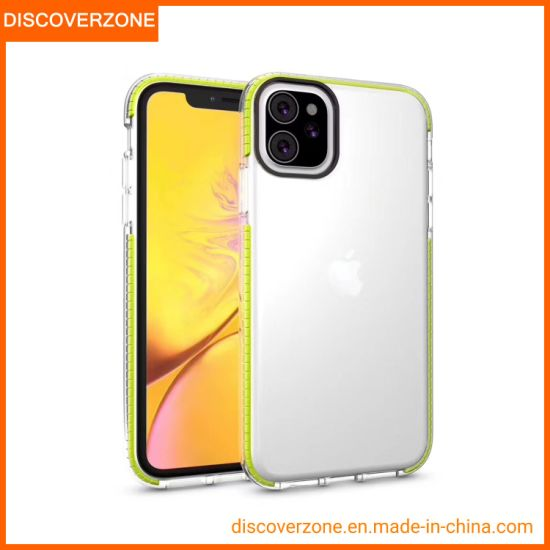 New iPhone Mobile Phone Accessories Phone Case Transparent 3 in 1 Cell Phone Cover for iPhone11 PRO Max iPhone Case
