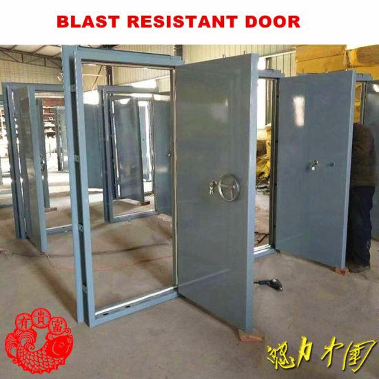 Blast Resistant Door & Frame Assemblies for Refineries (CHAM-BRD777)