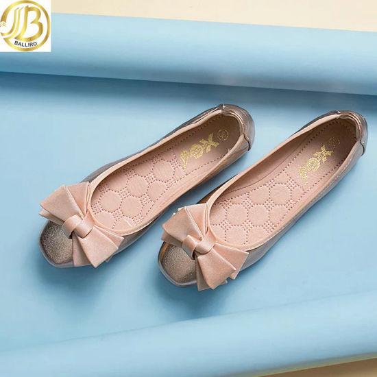 China Women Flat Shoes Lady Leisure