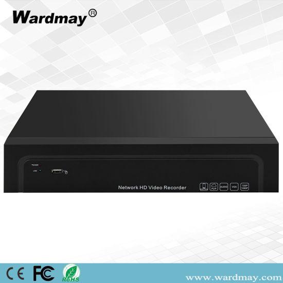 High-End H. 265 8chs 1u 4K HD NVR Suport 2PCS HDD