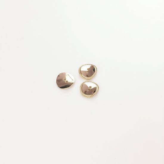 Wholesale Garment Customize Logo Metal Button