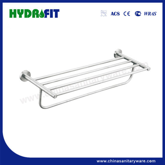 S. S304 Good Quality Chrome Towel Shelf (BAS3098)