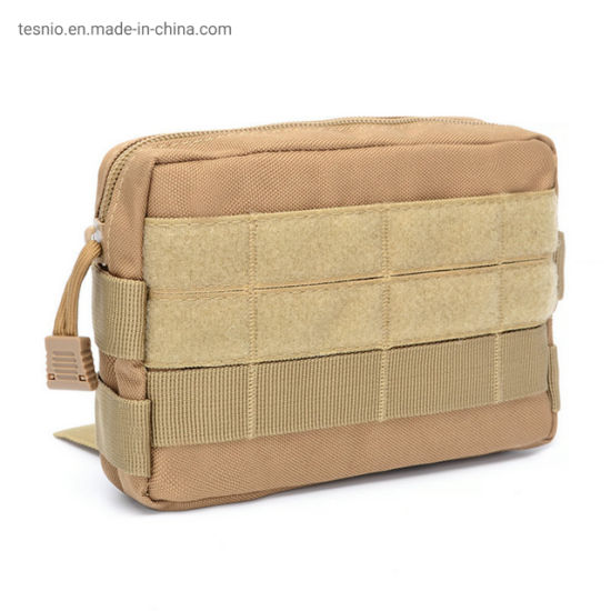 Khaki Tactical Admin Molle Military Tool Waist Bag Army Pouch