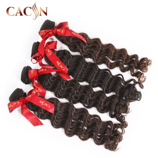Remy PU Skin Single Weft Russian Mongolian Deep Wave Human Hair Extensions