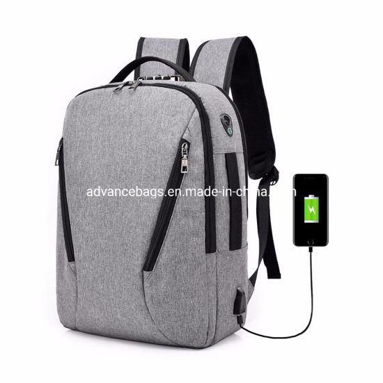 2019 New Design OEM Wholesale Durable Fashion Leisure Business Laptop Case iPad Backpack Bag Computer Bag
