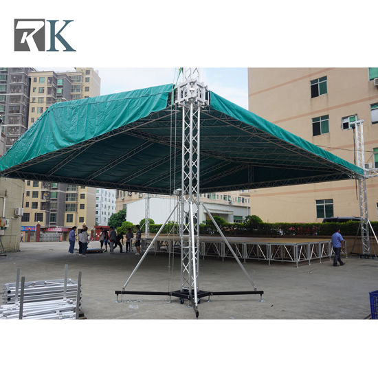 Aluminum Truss Lighting System Stage Display Speaker Line Array for Music Festival Concert Event pictures & photos