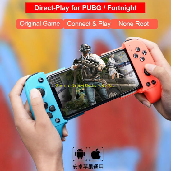 for Fortnite Pubg Mobile Controller Gamepad Ios Android Game Controller  Keyset Function Wireless Gamepad Bluetooth Gamepad