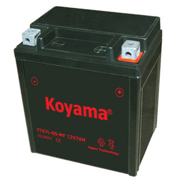 Motorcycle Lead-Acid AGM Battery Ytx7l-BS-Mf