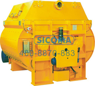 Sicoma Twin Shaft Concrete Batching Plant Concrete Mixer