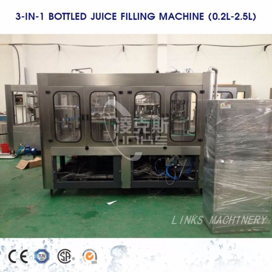 Full Automatic Hot Juice Filling and Capping Machine pictures & photos