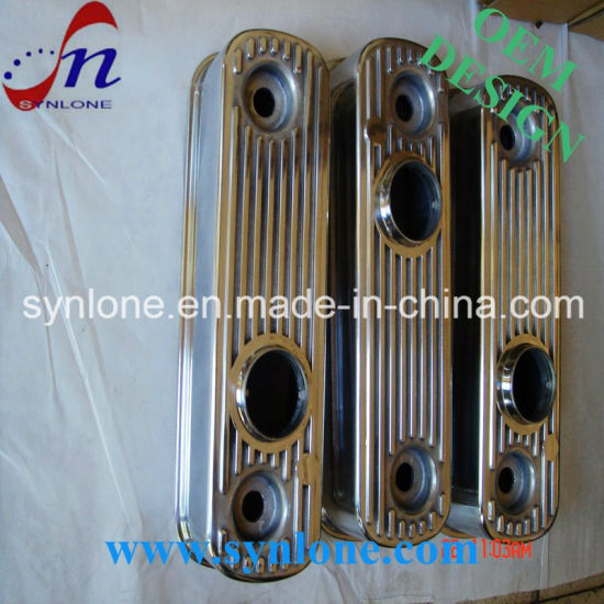 China Aluminum Alloy Die Casting Rocker Cover Pol for Austin
